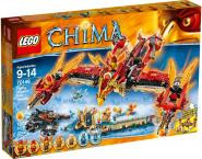 Lego 70146 Legends of Chima - Phoenix Fliegender Feuertempel
